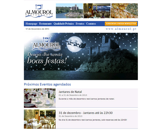 Restaurante Almourol - Newsletters